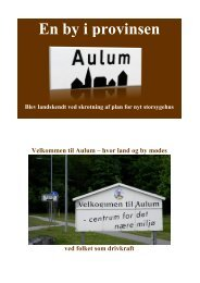 En by i provinsen - underregnbuen.dk