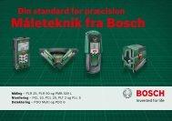 Måleteknik fra Bosch