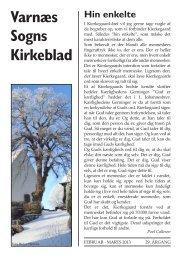 Kirkebladet februar 2013 - Varnæs Kirke