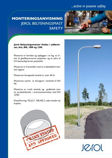 ...active in passive safety ... - Jerol Industri AB