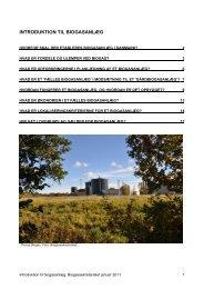 Introduktion til biogasanlæg - Naturstyrelsen