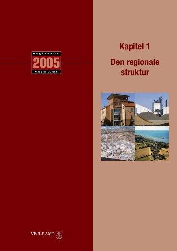 Kap. 1: Regional struktur - Naturstyrelsen