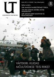Märts 2012 nr 3.pdf - Universitas Tartuensis - Tartu Ülikool