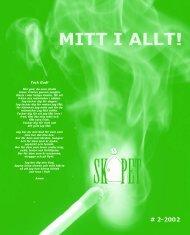 SkÅpet 2-2002 - Hedbom