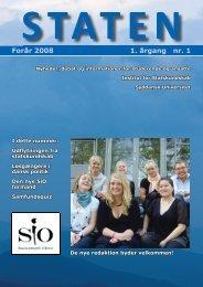 Forår 2008, årgang 10, nr. 1 - STATEN