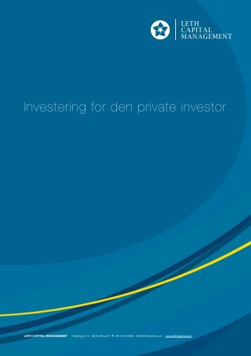 Investering for den private investor - Leth Capital Management