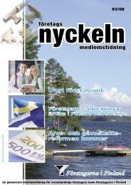 Nummer 3/2008 - Suomen Yrittäjät