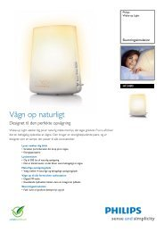 HF3480/01 Philips Wake-up Light - Tretti.dk