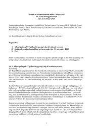Referat ekstraordinært bestyrelsesmøde 21.02.2013 - Århus ...