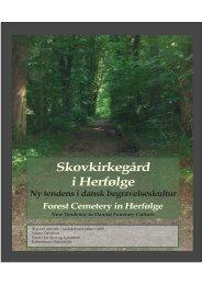 Skovkirkegård i Herfølge - Danske Landskabsarkitekter