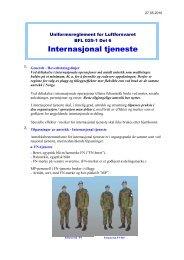 Internasjonal tjeneste