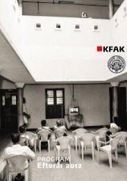 Jeg er nyt medlem af KFAK - Selskabet for Dansk Fotografi