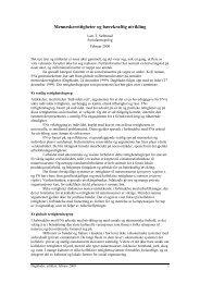 Norge, bærekraftig utvikling og rettigheter - Supras.biz