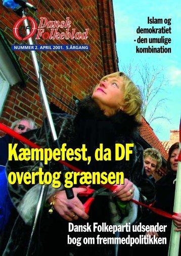 Kæmpefest, da DF overtog grænsen - Dansk Folkeparti