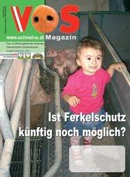 VÖS-Magazin Ausgabe 1/2011 - Schweine.at