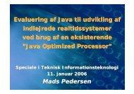 Eksamenspræsentation 11. januar 2006 (PDF-fil) - Mads-p.dk