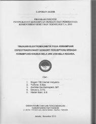 ·l-~. - KM Ristek - Kementerian Riset dan Teknologi