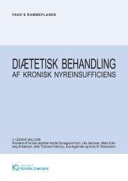 DIÆTETISK BEHANDLING - Foreningen af Kliniske Diætister