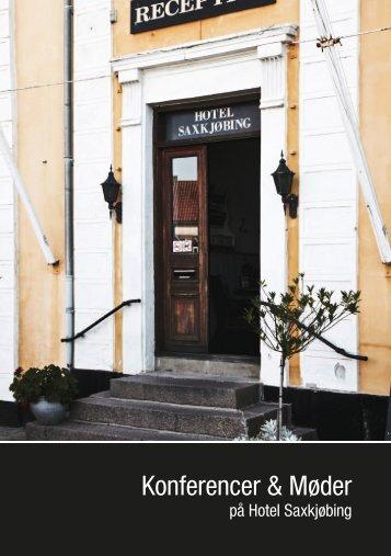 Konferencer & Møder - Hotel Saxkjøbing
