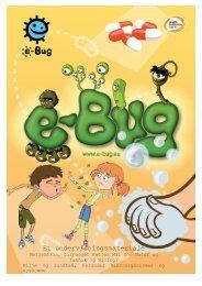 Et undervisningsmateriale - e-Bug