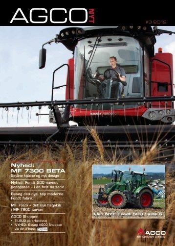 Nyhed: MF 7300 BetA - AGCO Danmark A/S