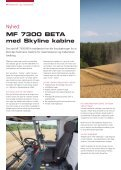 Nyhed: MF 7300 BetA - AGCO Danmark A/S - Page 4