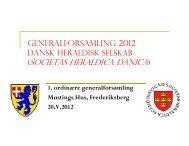 DHS Generalforsamling 2012 Dagsorden og Formandsberetning