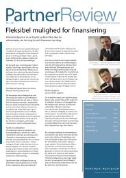 Fleksibel mulighed for finansiering - Partner Revision