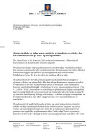 Om den juridiske og faglige status rundskriv, retningslinjer og ...