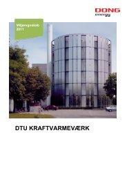 DTU KRAFTVARMEVÆRK - DONG Energy