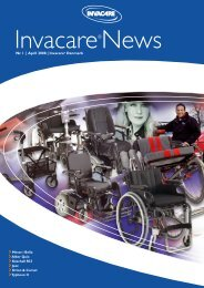Nr. 1 | April 2008 | Invacare® Danmark
