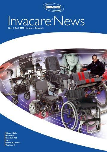 Nr. 1 | April 2008 | Invacare® Danmark