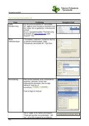 Konvertering til læreraftale 08 - Tabulex