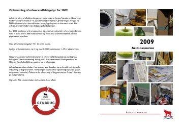 Opkrævning af erhvervsaffaldsgebyr for 2009 - Rødovre Kommune