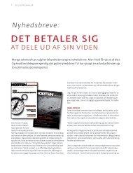 DET BETALER SIG - Danske Advokater