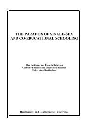 The paradox of single-sex and co-educational - University of ...