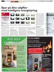 BYG SELV EN MASSEOVN - Energitjenesten