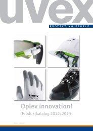 Oplev innovation! - UVEX SAFETY