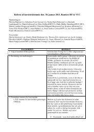 Referat af kursistrådsmøde den. 30. januar 2013, Randers HF & VUC