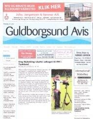 Guldborgsund Avis - Resultater