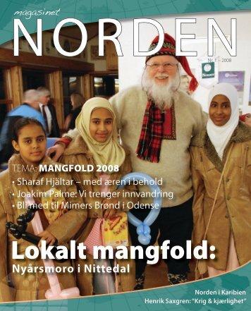 Lokalt mangfold: - Foreningen Norden