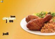 Chicken Joes Brochure - Love Joes