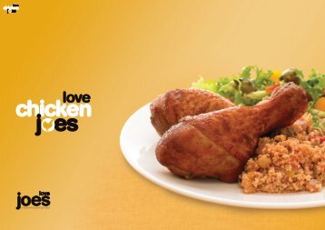 Chicken Joes Brochure - Love Joes
