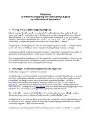 Vejledning vedrørende ansøgning om ... - Kirkeministeriet