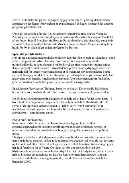 Referat af Generalfosamlingen til download - dsohh