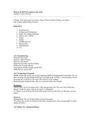 Referat af best. møde fredag den 15. april 2011 - DFFO
