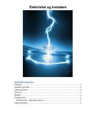 Elektrisitet og kretslære - Linksidene
