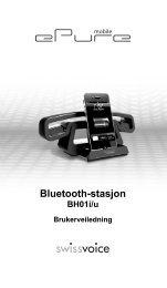 Bluetooth-stasjon - Swissvoice.net