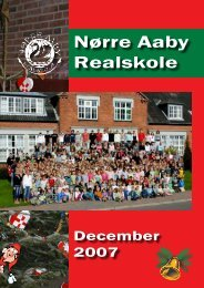 Ferieplan skole- året 2007/08 - Skoleporten Nørre Aaby Realskole