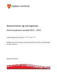 Bestemmelser og retningslinjer etter sak 90/11 dato 8.9.2011